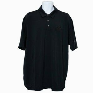Men's Nike Golf Goof Off Black Polo Shirt Size XL